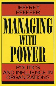 Cover for Managing with Power by Jeffrey Pfeffer