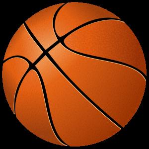 Stylized basketball