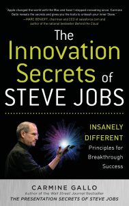 Book Cover for The Innovation Secrets of Steve Jobs, by Carmine Gallo