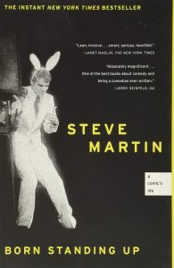 """Cover of """"Born Standing Up: A Comic's Life"""" by Steve Martin"""