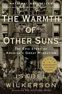 """Cover of """"The Warmth of Other Suns"""" by Isabel Wilkerson"""
